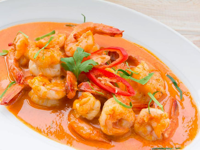 Prawns-in-Red-Sauce
