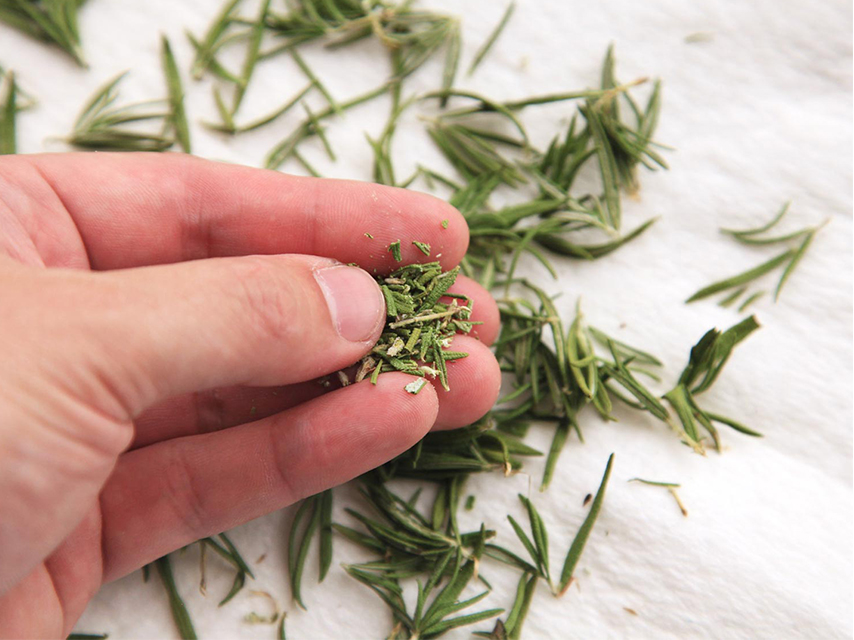 Dry-herbs-for-garnishing