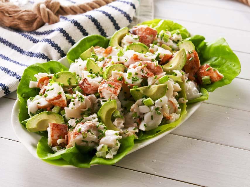 Classic Lobster Salad