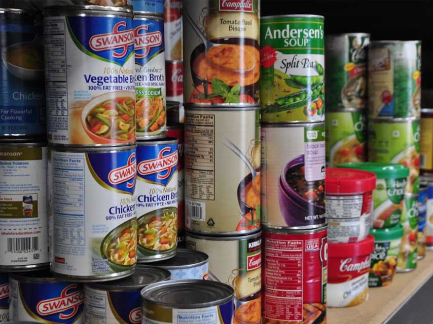Canned Food - Common Foods to Avoid Consuming Daily