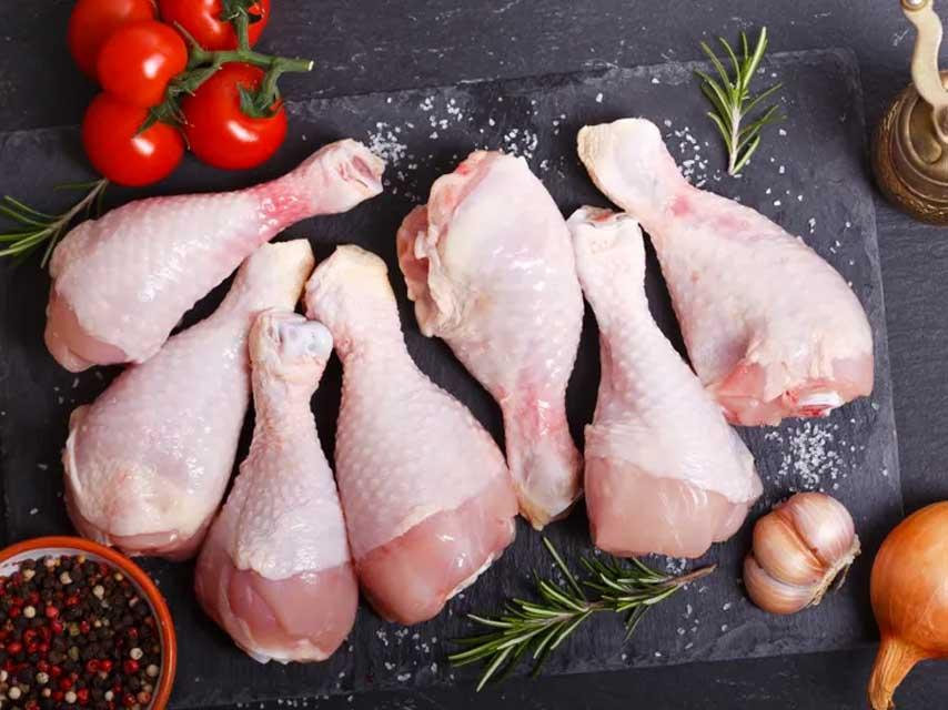 poulet cru