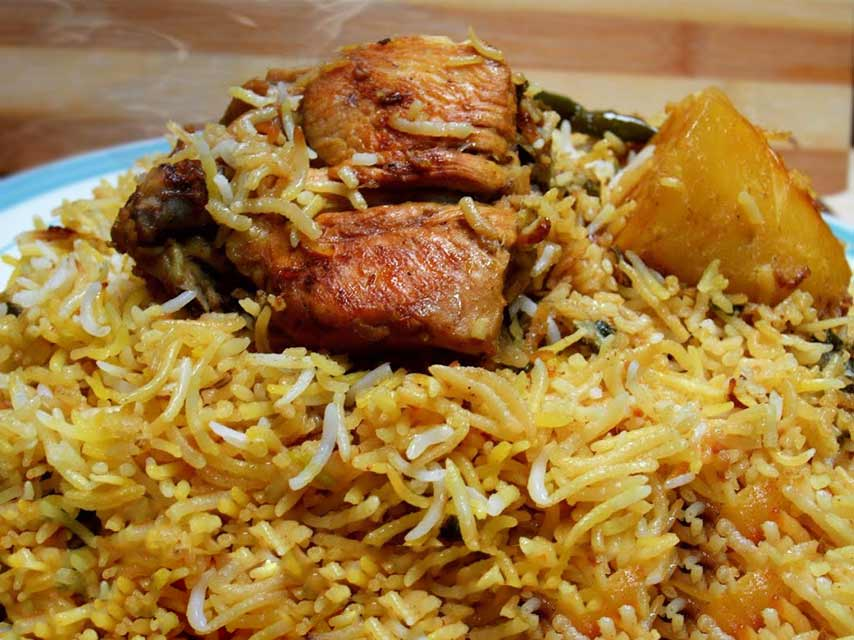 biryani mauritius street food