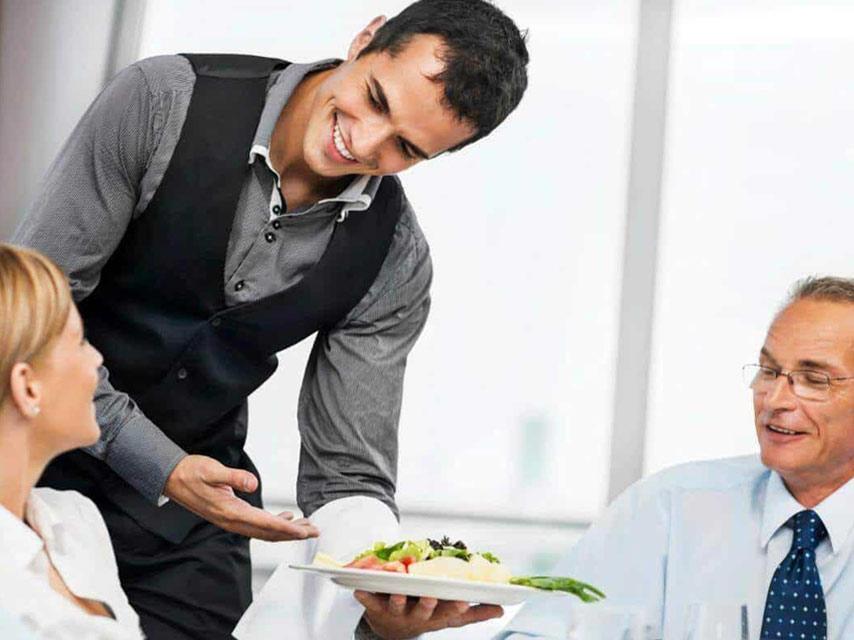 confirm vegan food with server