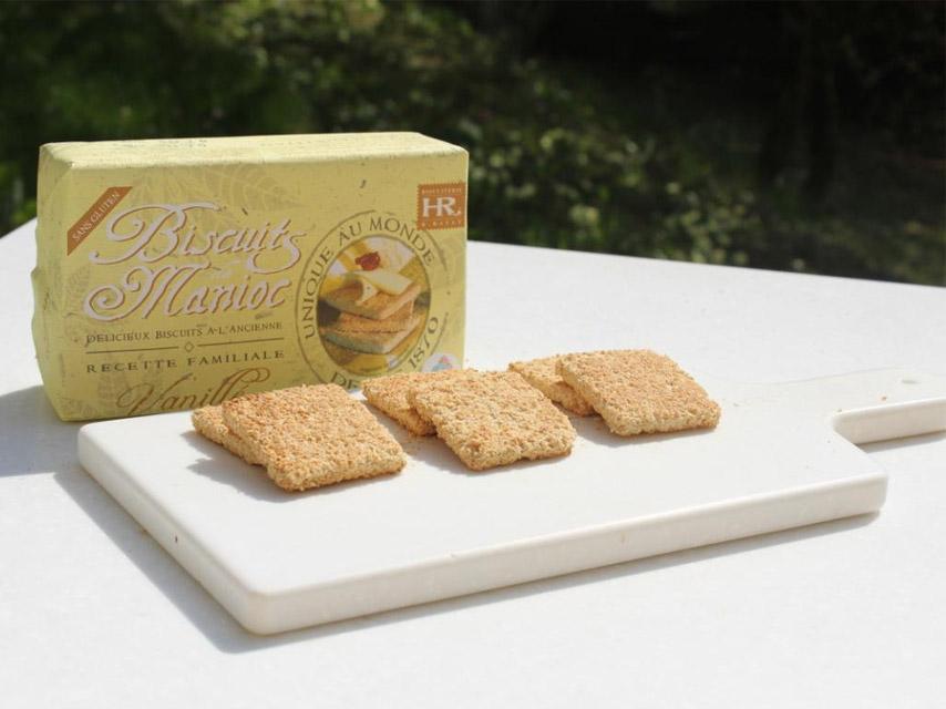 biscuit manioc