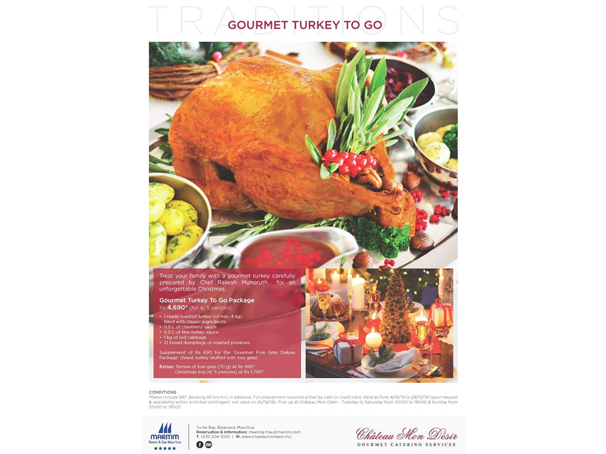 Gourmet Turkey To Go