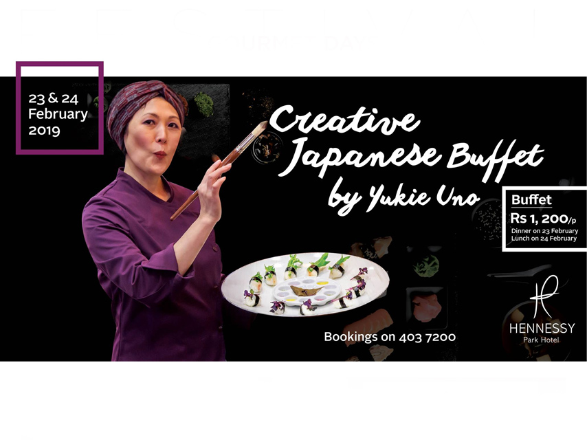 Creative Japanese Buffet by Yukie Uno