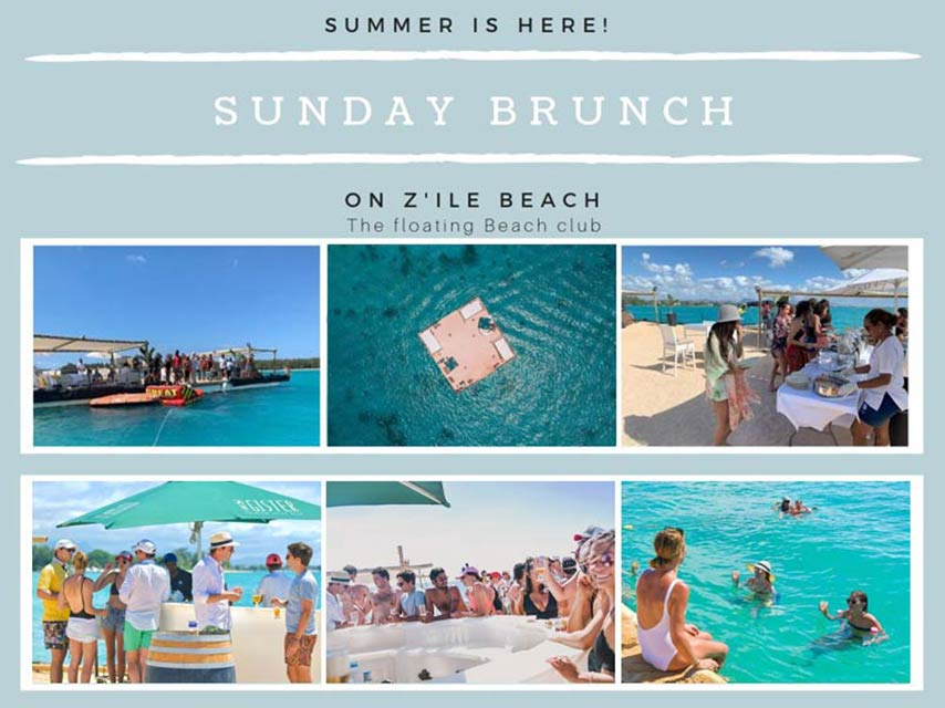 Sunday Brunch On A Floating Beach