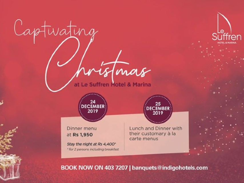 Captivating Christmas at Le Suffren Hotel & Marina