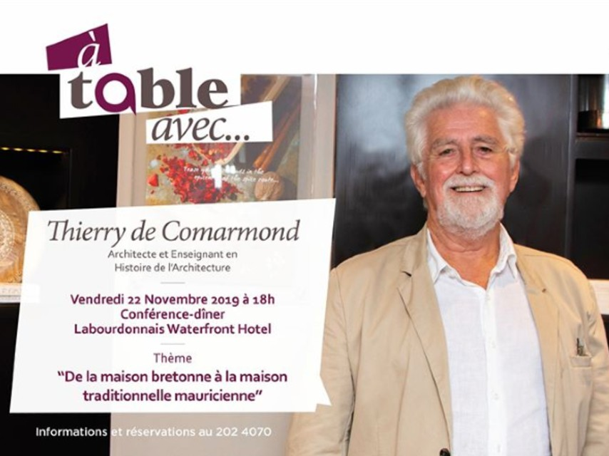 A Table Avec Thierry de Comarmond