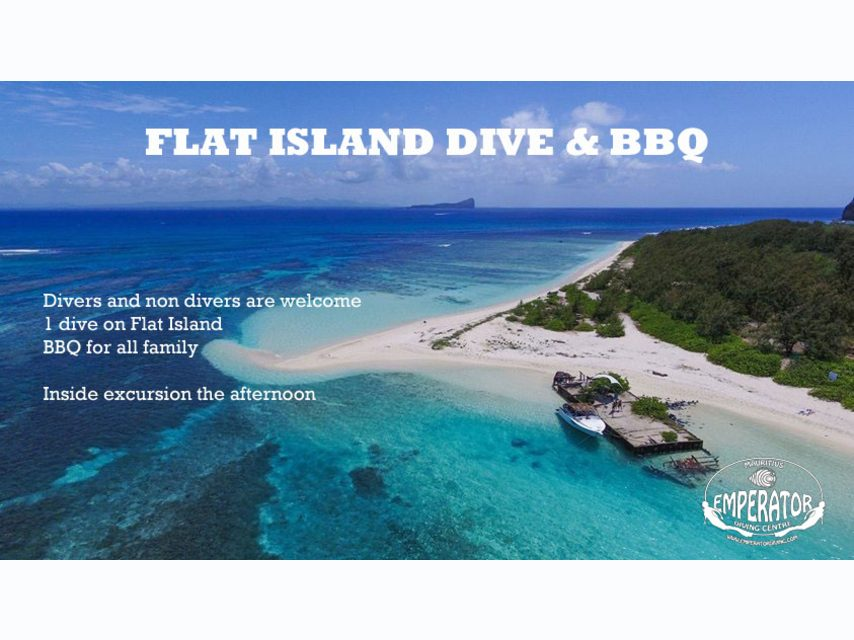 Flat Island Dive & BBQ for All The Family